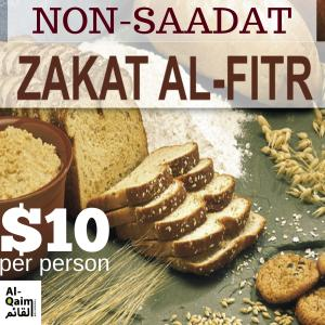 Zakat Al Fitr – Non-Sadaat