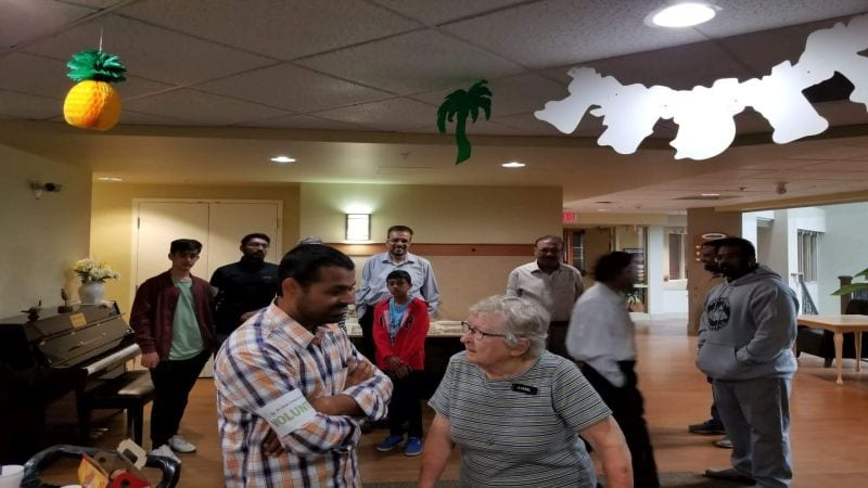 Al-Qaim Seniors Meet And Greet Event
