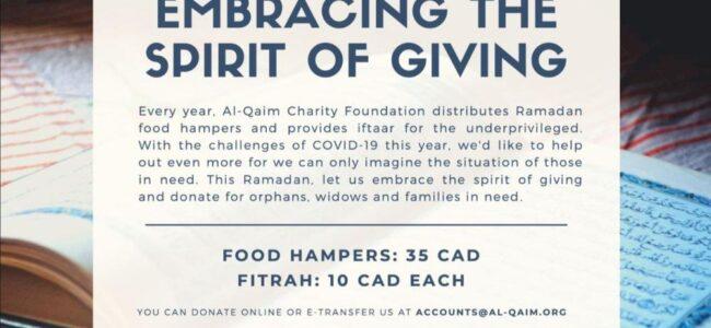 COVID-19 Donation Calgary